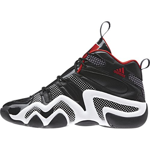 adidas Crazy 8 Goes Black Red with Patent Leather and Polka