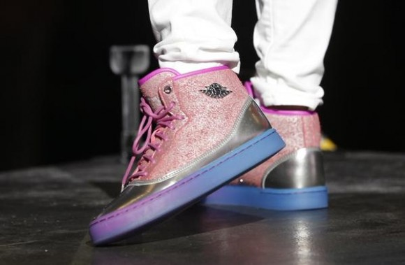 Pink And Purple Jordan Shoes