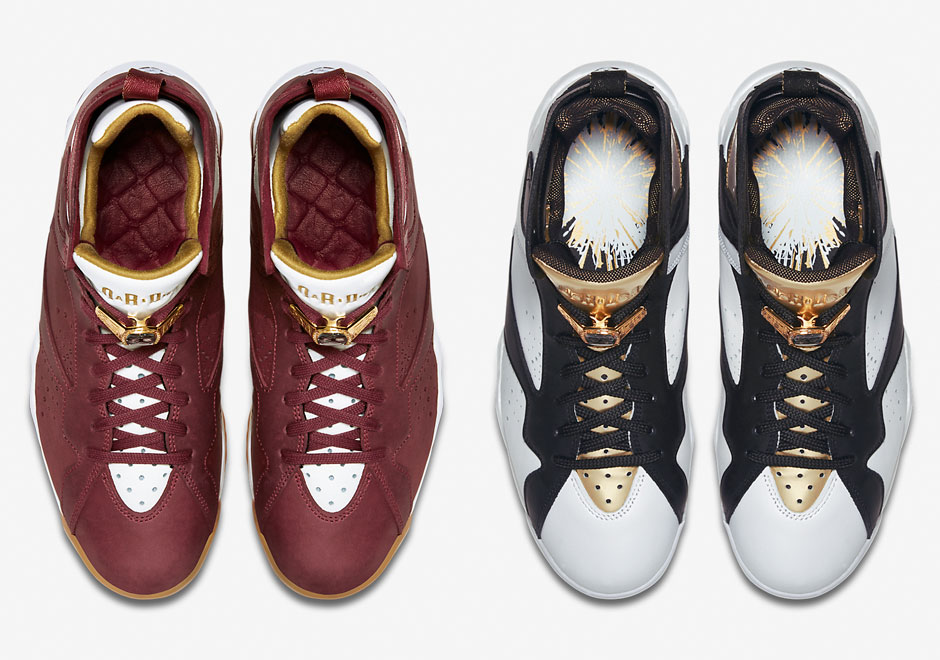 1fe3dc5174db Air Jordan 7  Championship Pack  - Official Images - WearTesters