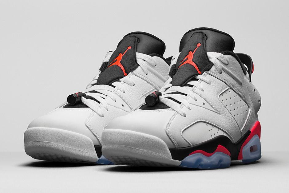 air jordan 6 retro low 39 infrared 39 official look. Black Bedroom Furniture Sets. Home Design Ideas