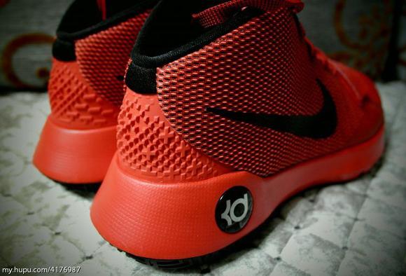 nike kd trey 5 red black