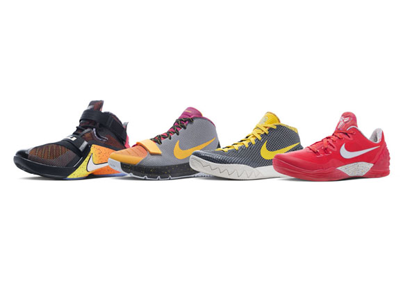 Nike Basketball Unveils New Outdoor Models in China 'Rise' Collection