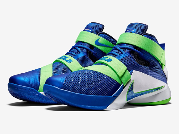 super popular a5264 d67c5 Nike LeBron Soldier 9 - 'Blackout' & 'Sprite' Colorways ...