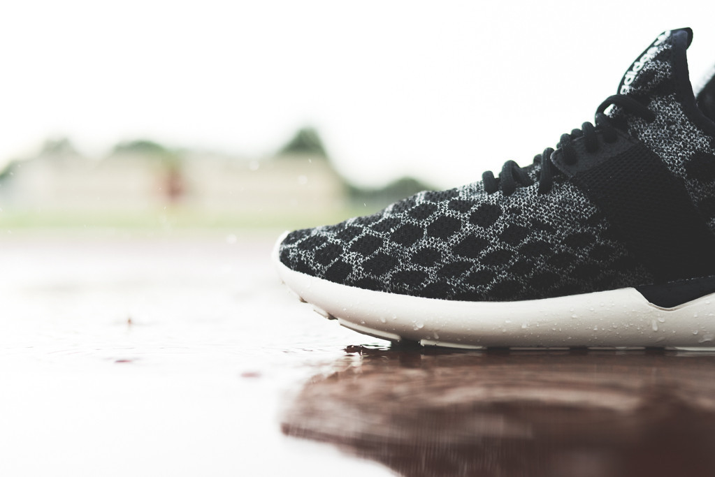 Adidas Tubular Radial Black White Unboxing Video at Exclucity