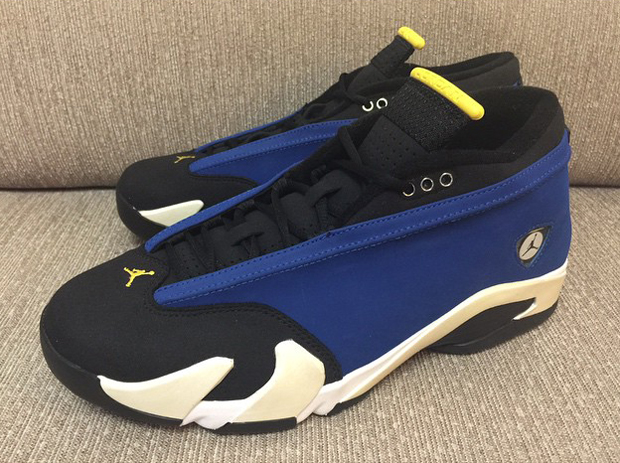 timeless design c864e 6c469 Air Jordan 14 Low 'Laney' - Detailed Look - WearTesters