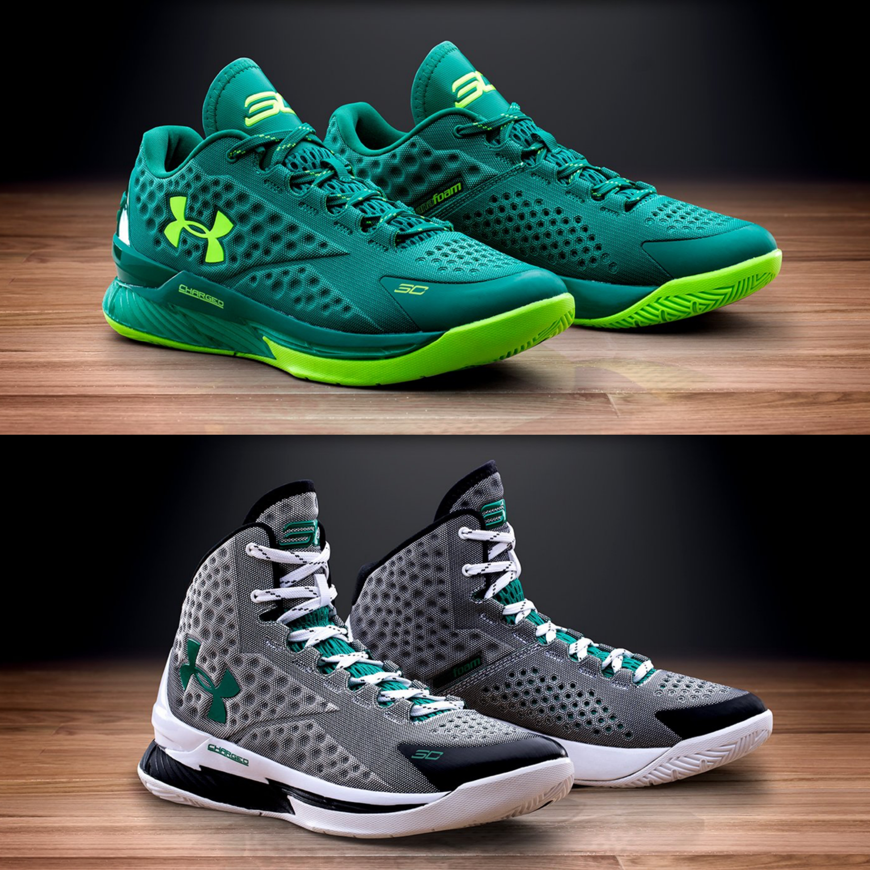 Under Armour Curry One 'Golf' Pack - Low and High ...