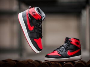 Air Jordan 1 AJKO 'Bred  2012 vs. 2015 Comparison 2