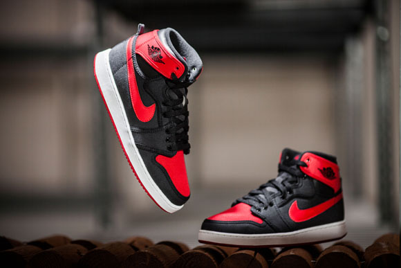 2015 Comparison 1 Air Jordan 1 AJKO 'Bred 2012 vs.