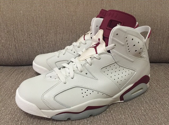 huge selection of 65023 a1692 Air Jordan 6 Retro 'Maroon' Gets Another Look - WearTesters