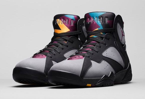 Air Jordan 7 Bordeaux 2017 Notes