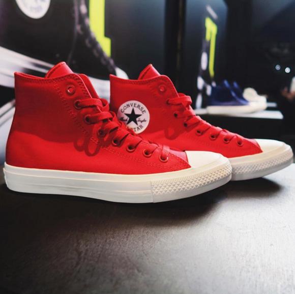 converse chuck 2 red