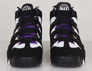 7663151bb2aa ... new style nike air max2 cb 94 og black white pure purple front view  37941 163c1 ...