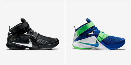 Nike Lebron Soldier 9 - Nike Lebron Soldier 9 Noirout Sprite Colorways Available Now Dégagehommest