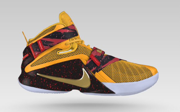 check out 8ff18 8755c Nike Zoom LeBron Soldier 9 - Available Now On NikeiD ...