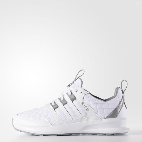 Adidas Sl Loop Quilted White