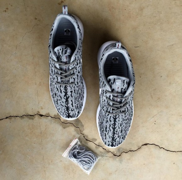 new product c15b8 ca1a7 This Guy Drew Lines on the Nike Roshe to Mimic the Yeezy 350 ...