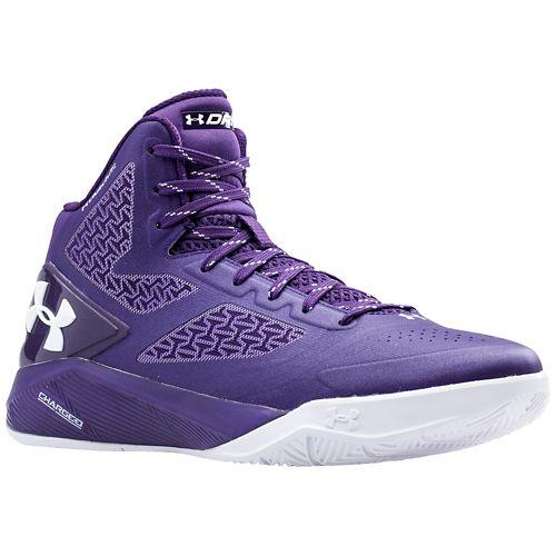 ua clutchfit prodigy grey purple