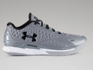 Under Armour Curry One Low Will Release In Silver 1