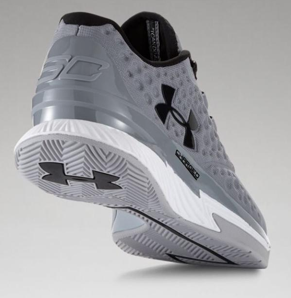 under armour curry 1 low grey black
