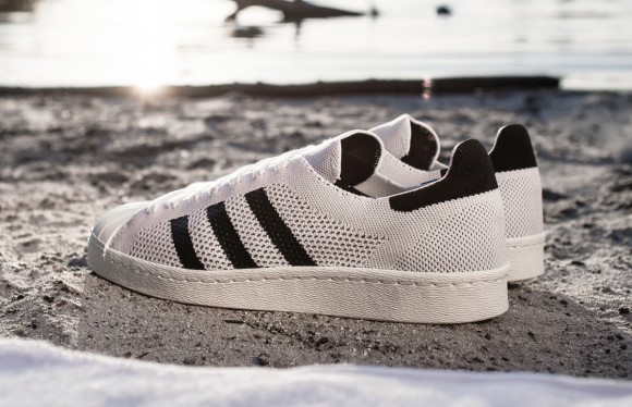 Adidas Superstar 80s Primeknit Gjennomgang VjY94K48BH