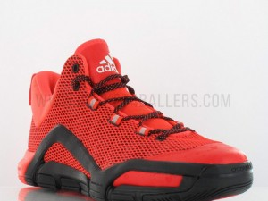 adidas CrazyQuick 3 In Red: Black 2