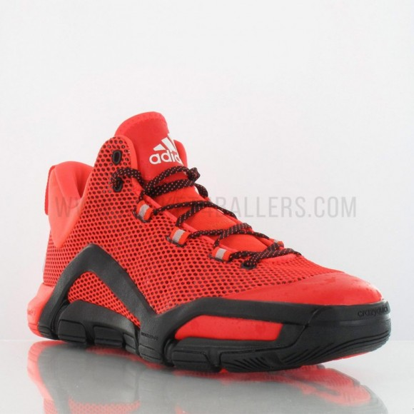 new arrival 266df c361d adidas crazyquick 3 thumbnail; adidas crazyquick 3 in red black weartesters