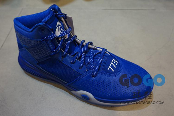 new arrivals 76049 6579f ... adidas D Rose 773 IV In Tonal Red and Blue Options 6