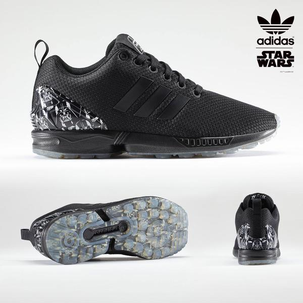 ... adidas ZX Flux darth vader black star wars ...