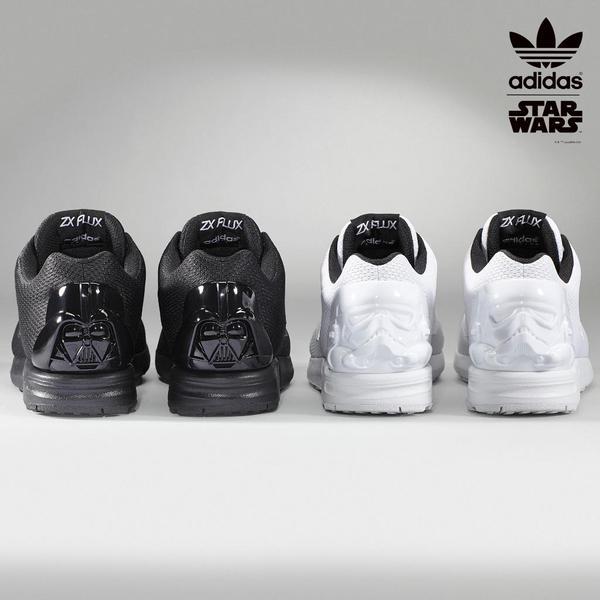 capa columpio Sociedad  adidas ZX Flux - Star Wars Miadidas Options Available Now - WearTesters