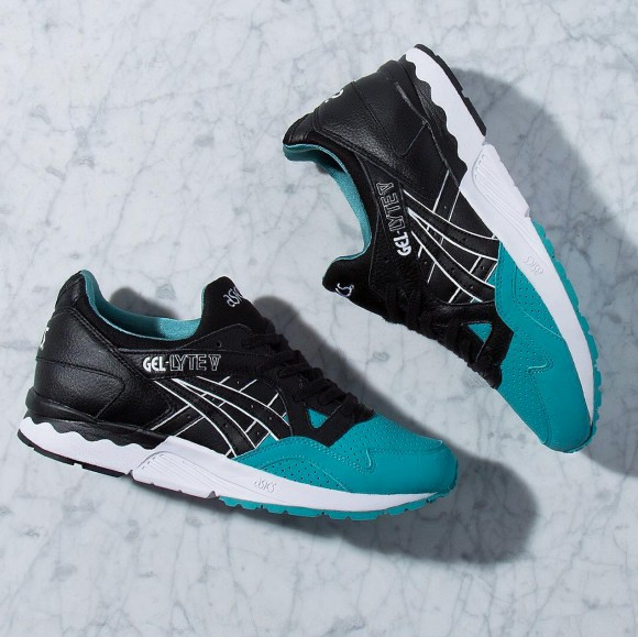 reputable site 381c3 75077 For Those That Missed the Kith x Diamond Gel-Lyte V ...