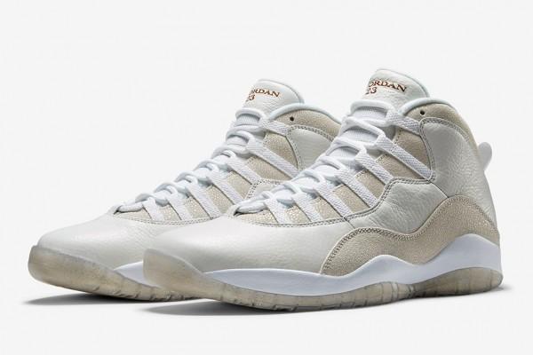 Drake x Air Jordan 10 OVO White