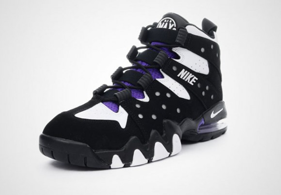 nike air max2 cb 94 og - black \/ pure purple high performance