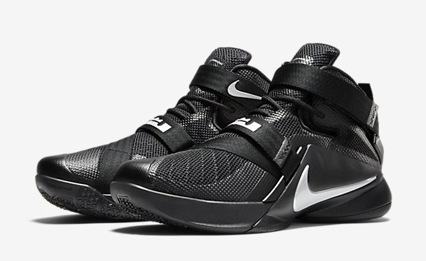super popular 5a8b5 97bed Nike LeBron Soldier 9 - 'Blackout' & 'Sprite' Colorways ...
