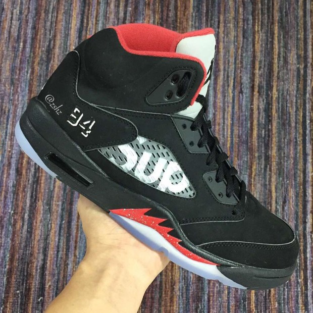 info for 4eee3 bf842 Hypebeast PSA: Images of Another Supreme x Air Jordan 5 Have ...