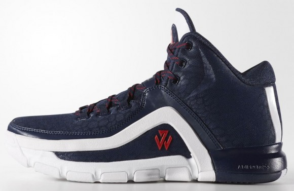 A Detailed Look at The adidas J Wall 2 in Navy: White 2