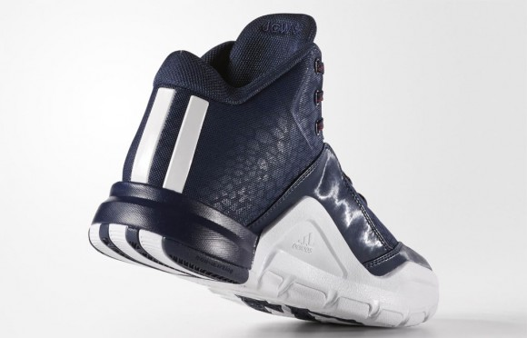 A Detailed Look at The adidas J Wall 2 in Navy: White 3