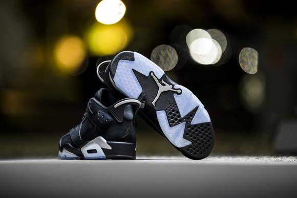 Air Jordan 6 Retro Bas De Chrome Noir fek781zhW