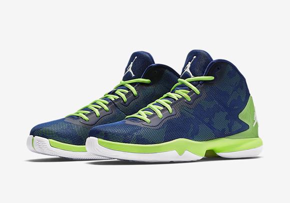 Jordan Super.Fly 4 'Green Pulse