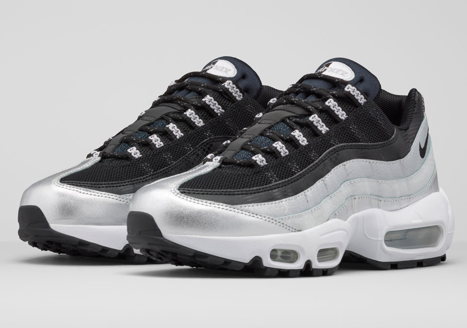 best sneakers 690a9 d499f Nike Air Max 95 'Platinum Anniversary Pack' – Available Now ...