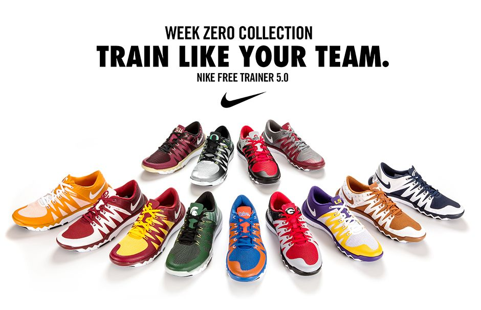 ladies nike free trainers college