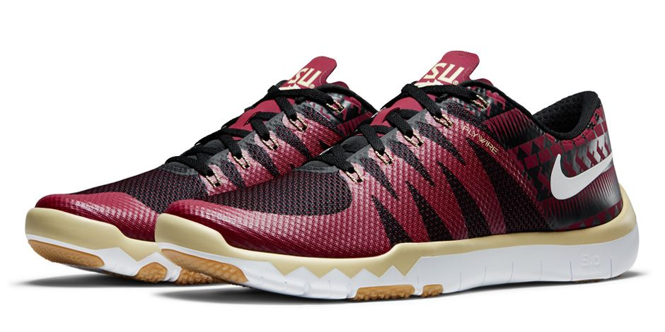 pink nike free trainers college