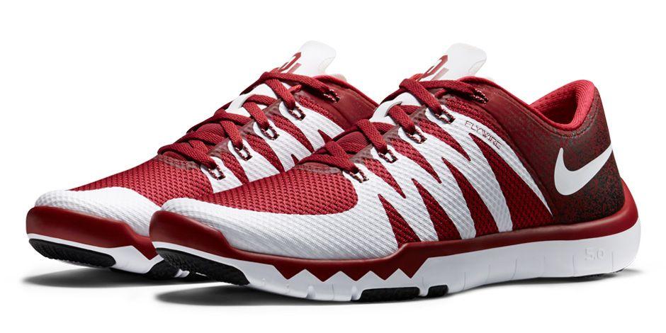 Nike Free Trainer 5.0 Sooners Football Oklahoma