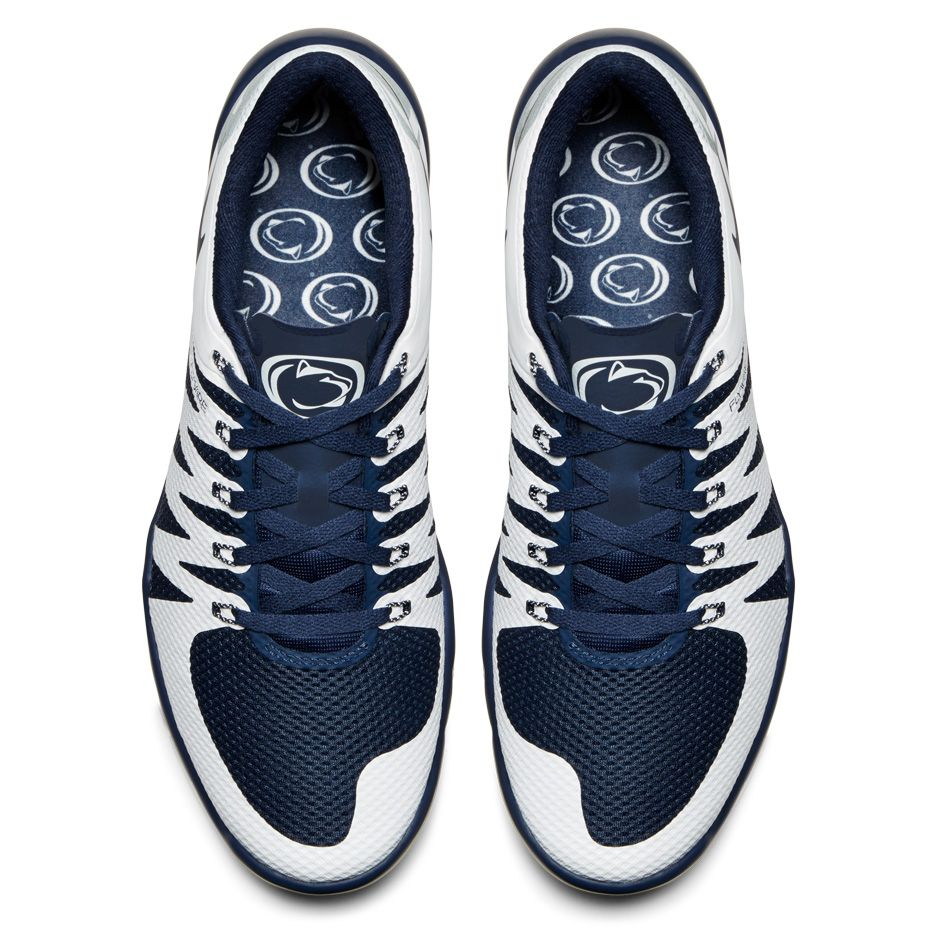 496f954ceef56 ... Nike Free Trainer 5.0 V6 Week Zero Penn State Nittany Lions Top View ...