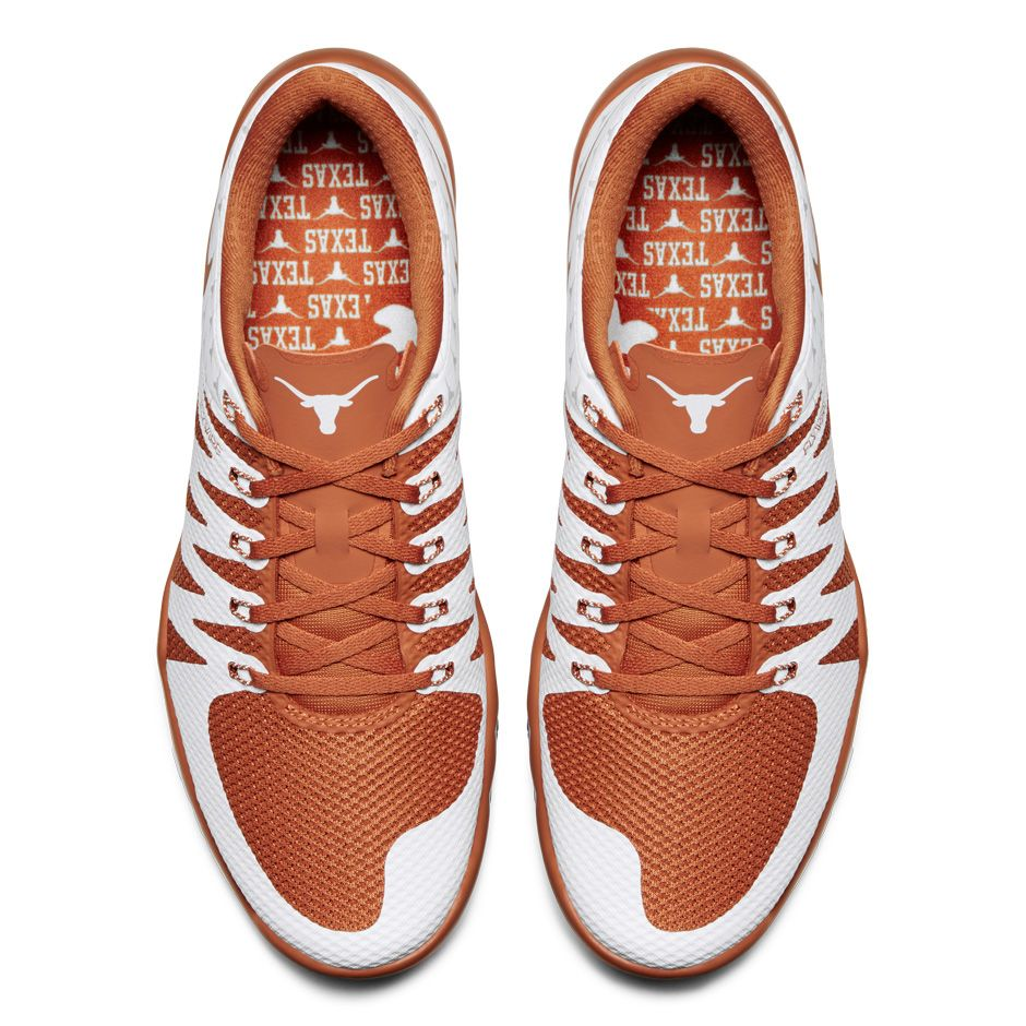 nike free trainer 5.0 texas longhorns 2015