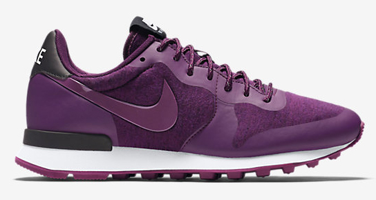 womens nike internationalist purple gold