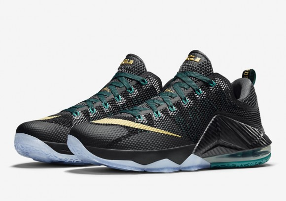 The Next Nike LeBron 12 Low Honors James' High School 1
