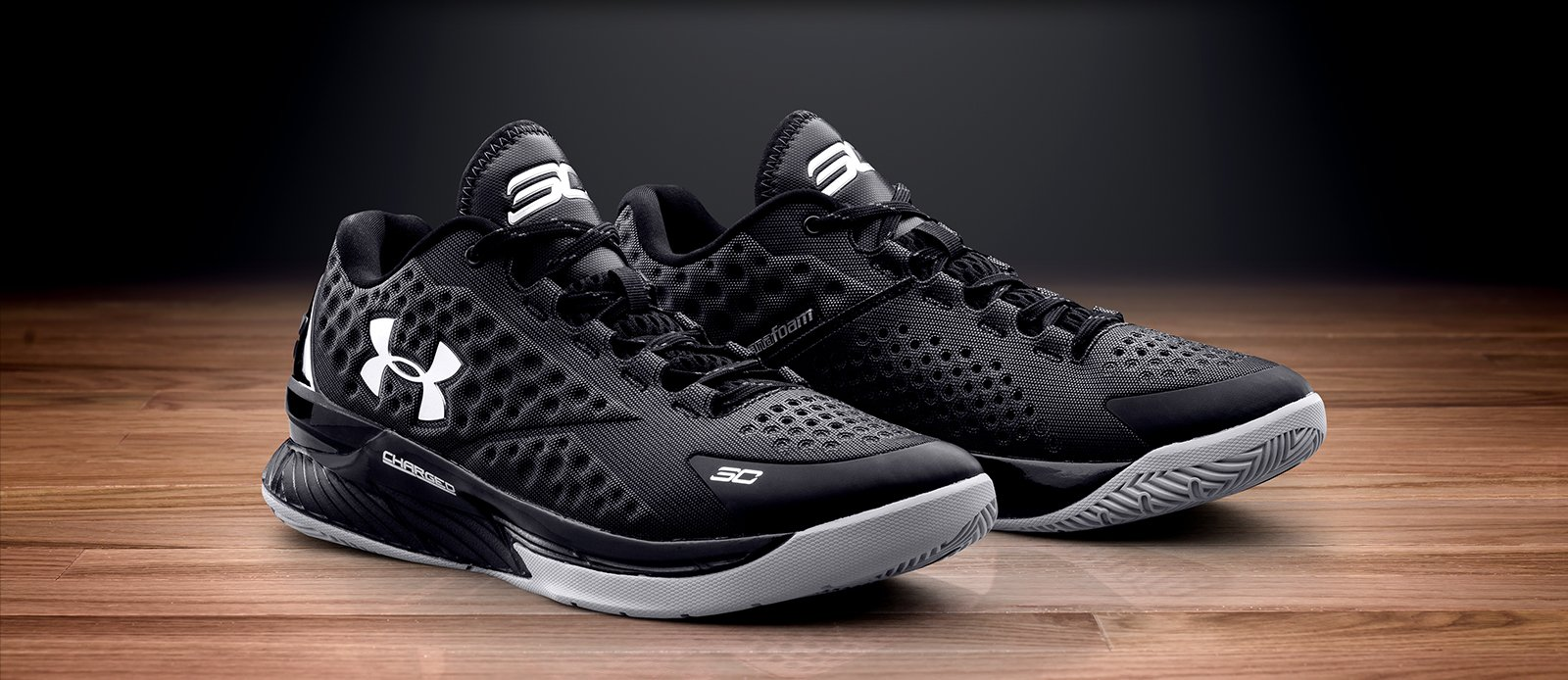 Under Armour Curry One Low 'Two-A-Days' black