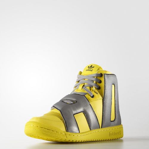 adidas Letters Reflective Core Yellow 1 ...