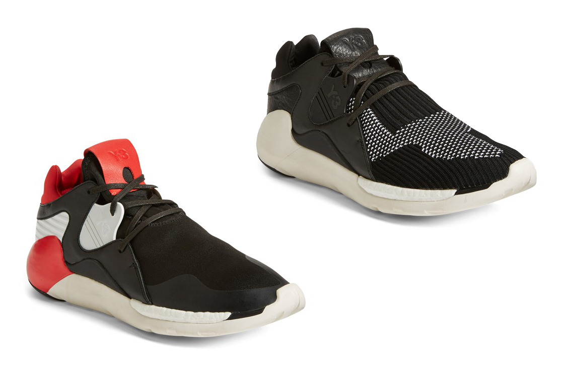 adidas Y-3 QR Primeknit two colorways