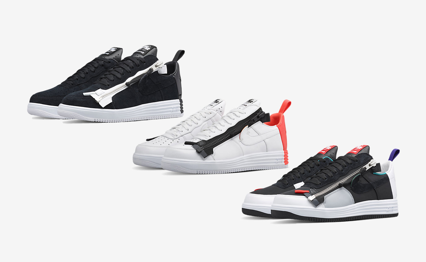 Nike x Acronym Lunar Force 1 Available Now in 3 Colorways